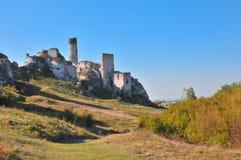 Olsztyn Schloss Lizenzfreies Stockbild