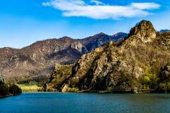 Olt水坝,罗马尼亚 免版税库存照片