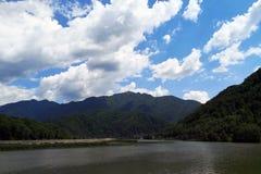 Olt河,罗马尼亚 免版税库存照片