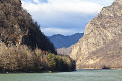 olt ποταμός στοκ εικόνα