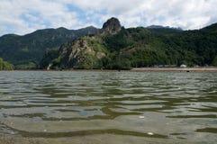 Κοιλάδα Olt σε Cozia, Valcea, Ρουμανία Στοκ εικόνες με δικαίωμα ελεύθερης χρήσης