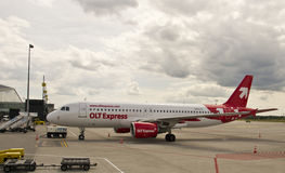 OLT Express, Airbus 320 Royalty Free Stock Photos