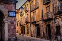 Olt quarter in Siguenza Royalty Free Stock Image
