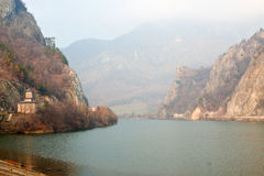 Free Olt River At Cozia Monastery. Royalty Free Stock Photo - 28628875