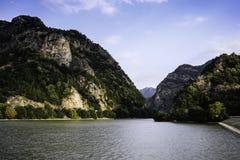 Olt River Valley Fotografie Stock Libere da Diritti