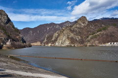 Olt river valley Royalty Free Stock Images