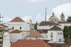 olt tavira镇在阿尔加威Portygal 免版税库存图片