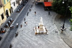 Oltarno, Florence, Italië Stock Foto