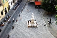 Oltarno Florence, Italien Arkivfoto