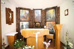 Oltary i minnes- monument till de av ondo offren Arkivfoto