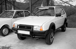 Oltcit 4x4 prototype Royalty Free Stock Images