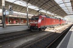 Oltenstation, Zwitserland Stock Foto