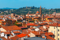 Oltrarno and Santo Spirito in Florence, Italy stock photos