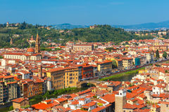 Oltrarno and Santo Spirito in Florence, Italy Stock Photo