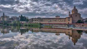 Oltrarno. View on Florence, Italy Stock Photo