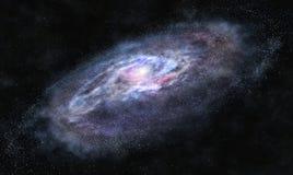 Oltre la galassia fotografie stock