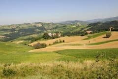 oltrepo ландшафта Италии pavese стоковое изображение