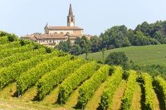 oltrepo ландшафта Италии pavese стоковое фото rf