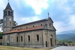 Oltrepo Pavese Италия, Nostra SIgnora di Montelungo, исторический c стоковая фотография rf