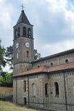Oltrepo Pavese Италия, Nostra SIgnora di Montelungo, исторический c стоковые фотографии rf