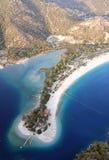 Olu deniz Strand und blaue Lagune Stockbilder