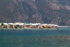 Oludeniz海滩 免版税库存图片