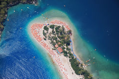 Oludeniz beach Royalty Free Stock Photo
