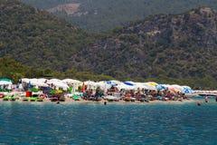 Oludeniz Beach Royalty Free Stock Photography