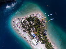Oludeniz beach resort Stock Photography