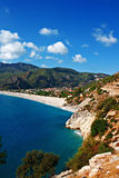 Oludeniz beach in Turkey on a summers day Royalty Free Stock Image