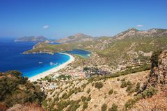 Oludeniz beach, Turkey Royalty Free Stock Image