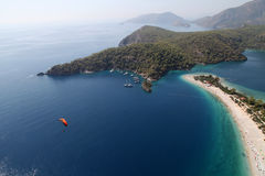 Oludeniz Blue Lagoon and Belcekiz beach Stock Photography