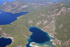 Oludeniz coastline Royalty Free Stock Image