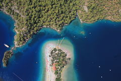 Oludeniz coastline Royalty Free Stock Photos