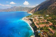 Oludeniz, die Türkei Lizenzfreies Stockfoto