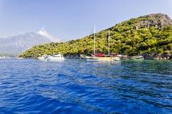 Oludeniz, die Türkei Stockbilder