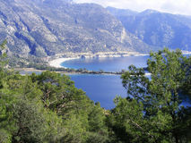 Oludeniz Lagune-Ansicht Stockfotos