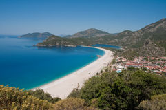 Oludeniz, Turkish Riviera Royalty Free Stock Photos