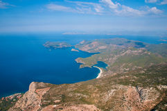 Oludeniz view from parachute. Stock Images