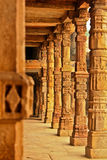 Сolumns. Columns of an ancient temple Stock Image
