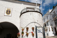 Olvera - Espanha Foto de Stock Royalty Free