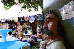 Olvera Straatmarkt Royalty-vrije Stock Foto's