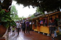 Olvera Straatmarkt Royalty-vrije Stock Foto