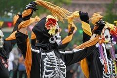 Olvera Street DÃÂa DE los Muertos Royalty-vrije Stock Fotografie
