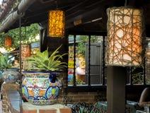 Olvera Street decoration - Los Angeles, LA, California, CA. USA Stock Photography