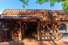 The Olvera Street Royalty Free Stock Images