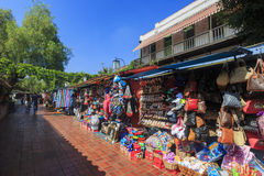 The Olvera Street Royalty Free Stock Photography