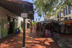 The Olvera Street Stock Images