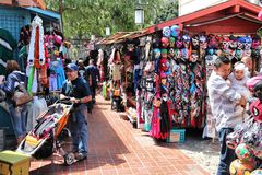 Olvera Street, Los Angeles Stock Image
