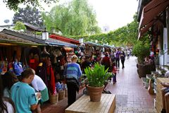 Free Olvera Street Market Royalty Free Stock Image - 80677086